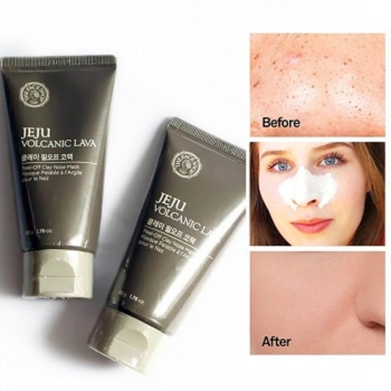 Mặt nạ lột mụn The Face Shop Jeju Volcanic Lava Peel Off Clay Nose